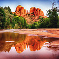 Red Rock State Park - Cathedral Rock by Bob and Nadine Johnston
