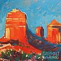 Red Rocks At Sedona by Micheal Jones
