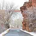 Red Rocks Winter Landscape Drive by James BO  Insogna