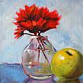 Red Still  by Nancy Merkle