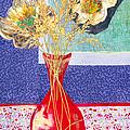 Red Vase I by Diane Fine