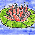 Red Waterlily by Lynn-Marie Gildersleeve