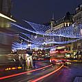 Regent Street Lights by Matthew Gibson