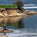 Relaxed Fisherman by Robert Bales