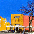 Relaxing In Colorful Puebla by Mark E Tisdale
