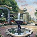 Renaissance Garden by John Zaccheo