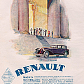 Renault 1930 1930s Usa Cc Cars by The Advertising Archives