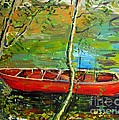 Renoirs Canoe by Charlie Spear