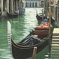 Resting Gondola by Michael Swanson
