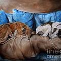 Resting Time by Dorota Kudyba