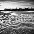 Restless river III Print by Davorin Mance