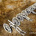 Revolutionary War Cannons by Olivier Le Queinec