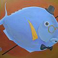 Rhapsody In Blue by Marina Gnetetsky