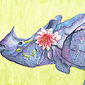 Rhino Whimsy by Mary Ann Bobko