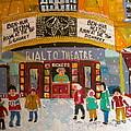 Rialto Theatre 1960 by Michael Litvack