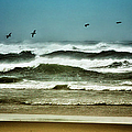 Riders On The Storm II - Outer Banks by Dan Carmichael