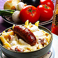 Rigatoni And Sausage by Camille Lopez