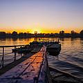 River Sunset by Svetlana Sewell