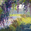 River Through The Moss by Patricia Huff