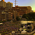 Riverfront Concert Print by Diana Powell