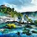 Riverscape by Ayse Deniz