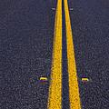 Road Stripe  by Garry Gay