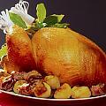 Roast Turkey by The Irish Image Collection
