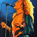 Robert Plant by Paul Meijering