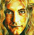 Robert Plant. The Enchanter by Tanya Filichkin