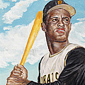 Roberto Clemente by Philip Lee