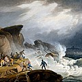 Robin Hoods Bay, Yorkshire, 1825 by Francis Nicholson