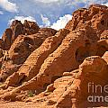 Rock Formations In The Valley Of Fire by Jane Rix