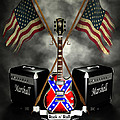 Rock N Roll Crest- Usa by Frederico Borges