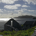 Rock Ruin By The Ocean - Ireland by Mike McGlothlen