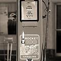 Rocket 100 Gasoline - Tokheim Gas Pump 2 by Mike McGlothlen