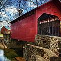 Roddy Road Covered Bridge by Joan Carroll