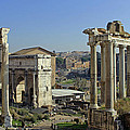 Roman Forum  by Tony Murtagh