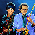 Ron Wood And Keith Richards by Paul Meijering