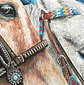 Roping Horses by Nadi Spencer