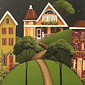 Rose Hill Lane by Catherine Holman