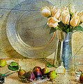 Roses With Figs by Diana Angstadt