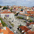 Rossio Square by Carlos Caetano