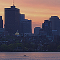 Rowing Boston by Juergen Roth