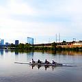 Rowing In Philadelphia by Bill Cannon