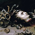 Rubens, Peter Paul 1577-1640. Head by Everett