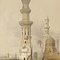 Ruined Mosques In The Desert by David Roberts