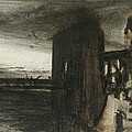 Ruins In A Landscape by Victor Hugo