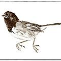 Running Bird Print by Susan Leggett