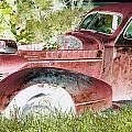 Rusted Truck 4 by Dietrich ralph  Katz