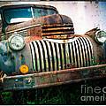 Rusty Old Chevy Pickup by Edward Fielding
